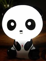 cute panda baby nursery comodino lampada led luce di notte (220v)