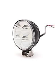 dy-wy12s 12w 6000k 900lm 4-CREE LED Weißlichtpunktstrahl Geländelampe (10-30 V DC, schwarz)