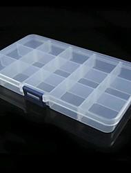 transparente elegante organizador de la joyería - 15 cuadrículas