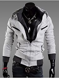 Павел мужская мода случайный капюшоном тепловой пальто