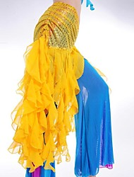 Belly Dance Wave Tassel Triangle Waist Chain/Shawls(More Colors)