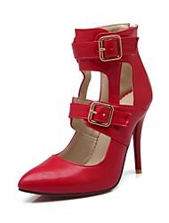 Chaussures Femme - Habillé - Noir / Rouge / Beige / Bordeaux - Talon Aiguille - Bout Pointu - Talons - Similicuir