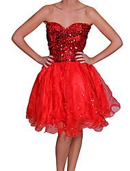 moda strapless vestido vestido de baile das mulheres Beautifly