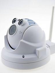 n400a1 1.0MP 720p (HD) IP CCTV mini caméra dôme IR bulit en charge la fonction PTZ