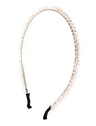 Fashion Purple/Light Pink Crystal Headbands For Women