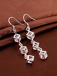 SSMN Women's  Silver Plate Earrings