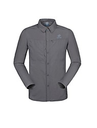 Men's Shirt / Tops Camping / Hiking / Hunting / Fishing / Exercise & Fitness / Leisure Sports / Badminton / Cycling/BikeQuick Dry /