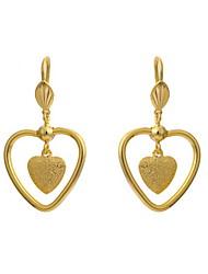 Yue Women's Causual Fashion Heart Earrings
