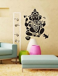 adesivos de parede adesivos de parede, Ganesh contemporânea parede ganesha pvc adesivos