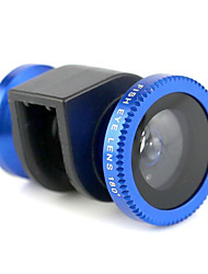 3-in-one 0.67X Wide Angle 180 Degree Fisheye Macro Lens Set for iPhone 5/5S