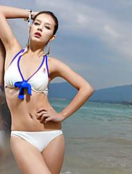 Sanqi Women's Classic Push-up Three Pieces Bikini Swimming Suit