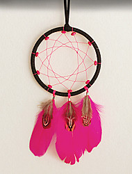 Rose Red Dream Catcher