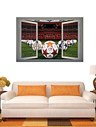 3D Wall Stickers Wall Decals, Football Game Decor Vinyl Wall Stickers