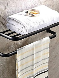 Oil Rubbed Bronze Brass Wall-mounted Towel Bar