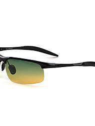 alumínio polarizada envoltório de moda óculos esportivos de ciclismo dos homens