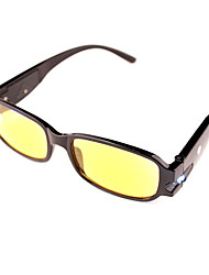 [Lenti libere] visione notturna con lampada in plastica rettangolo pieno-orlo occhiali da lettura classica