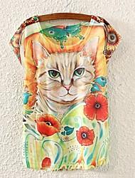 T-shirt - Stampa - Maniche corte - Sottile DI Misto cotone