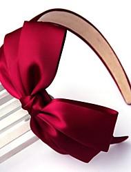 Women Work/Casual Satin Three Layer Bow Headbands