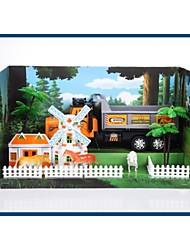 altíssima qualidade para carro de brinquedo caminhão crianças atrito conjunto com ferramentas do tema da fazenda 20142-1