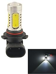 Carking™ Auto 9006 11W 5SMD LED Lens Headlamp Foglight Bulb-White(12V 1PC)