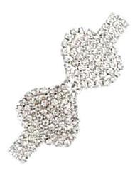 épingle métallique en forme de rosette (1pc) \\