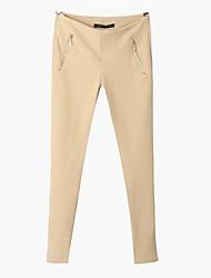 Women's High Waist Thin Slim Leisure Pants