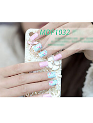 Arte 14PCS doces da cor dos desenhos animados adesivos de unhas no.1032 série MDP