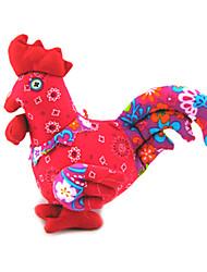 style chinois rouge poussin de pâques