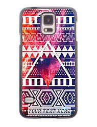 caja del teléfono personalizado - caso de diseño de metal triangular para i9600 Samsung Galaxy S5
