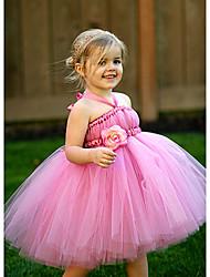 Ball Gown Knee-length Flower Girl Dress Sleeveless