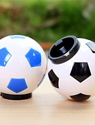 50 peças em forma de garrafa de futebol atacado abridor de lata, plástico 8 × 7,5 × 7,5 cm (3,2 × 3,0 × 3,0 polegadas) cor aleatória
