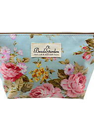 South Korea Imports Bought Flowers Cosmetic Bag
