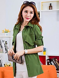 Women's Long-Sleeved Shirt Jacket