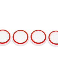 4pcs / lot Silikon noctilucent Kappe Daumen-Stick Joystick-Griff für PS4 PS3 Xbox 360 Xbox einem Controller