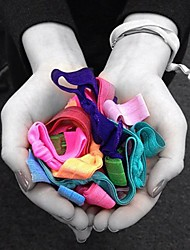Hot Fashion Candy Colored Hair Ties (Random Color)