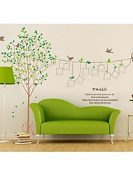 Wall Stickers Wall Decals, Style Tree 0f Life And Photos PVC Wall Stickers