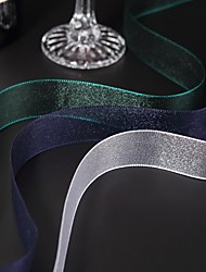 "1""Solid Color Organza Ribbon(more colors)"