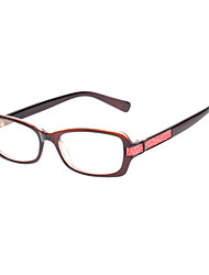 [Frame Only] PC Rectangle Full-Rim Classic Eyeglasses