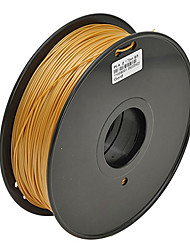JUWEI PVA Water-soluble 3D Printer Filament 3D Printing Consumables Material(1.75 3.0mm,0.5KG)