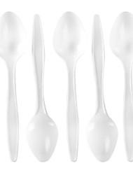 Disposable Plastic Dessert Spoon,1600Pcs/set