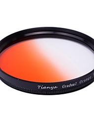 TIANYA 77mm Circular Graduated Orange Filter for Canon 24-105 24-70 I 17-40 Nikon 18-300 Lens