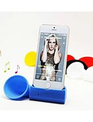 beboncool corne de silicone Stand Speakers amplificateur ajustement doux pour tous les iPhone (couleurs assorties)