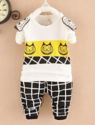 Boy's Fashion  Printing  Cotton  Clothing Sets