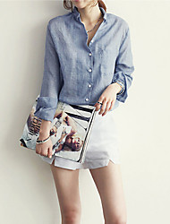 Amanda Women's Fashion Korea Style Long Sleeve T-Shirts