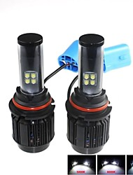 CONQUER®2PCS 9004   40W High Brightness High Power CREE LED Headlight Headlamp for Car