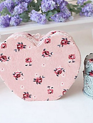 Cloth Lace Teddy Bear Heart-shaped Floral Cosmetics Box