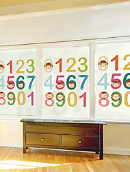 """60 * 80 centímetros (""""* w 31"""" l 24) filme de vidro - digital do bebê aprendendo"""