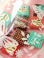 Favores y regalos de la fiesta Bolsos de regalos Plastic Baby Shower/Cumpleaños/Graduación/Fiesta de baile/Aniversario Tema ClásicoSin