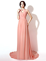 Formal Evening Dress Sheath / Column Floor-length / Court Train with