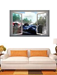 3d stickers muraux stickers muraux, cool décoration de voiture autocollants muraux en vinyle